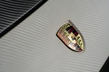 Porsche Cayenne карбоновая пленка