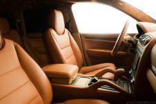 Porsche Cayenne перешить сиденья