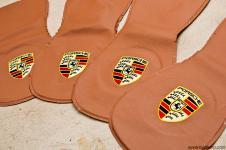 Porsche Cayenne выкройки подголовников кожа