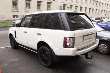 Range Rover - покраска автодисков