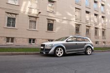 Audi Q7 в двух цветах с тюнингом от PPI обои мелко