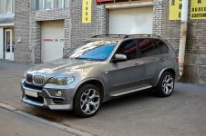 BMW X5 E70 в стайлинг пакете тюнинг ателье AC-Schnitzer