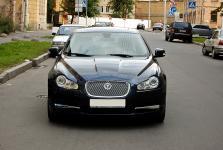 Jaguar XF тюнинг передних фар