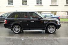 Range Rover Sport диски от Hamann Motorsport Anniversary-I и резина Michelin Diamaris 4x4