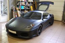 Ferrari F430 TuNero Novitec Rosso матовый техобслуживание