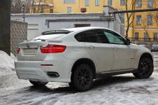 BMW X6 задний бампер от тюнинг ателье Hamann
