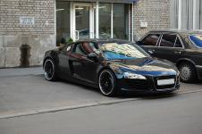 Audi R8 тюнинг выпускной Hamann