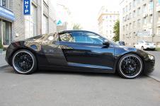 Audi R8 тюнинг глушителя Hamann
