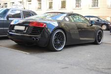 Audi R8 выхлопные трубы Hamann