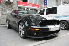 Ford Mustang Shelby GT500 с тюнингом и деталями Steeda, Dynotech, RAM вид спереди сбоку