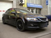 Mazda 6 MPS перекраска дисков в черный цвет