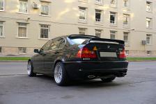 BMW 3 серии в 46ом кузове с тюнингом ателье Kerscher спойлер на багажник
