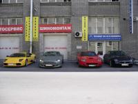 фото Lamborghini, Aston Martin, Ferrari, Maserati у тюнинг центра lkw-neva