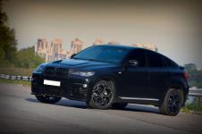 пороги BMW X6 от Hamann