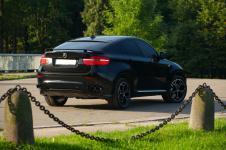 задний бампер BMW X6 от Hamann